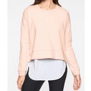 Athleta Modern Sweatshirt - Millennial Pink